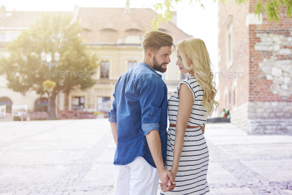 Strong relationship between young couple - Stock Photo - Images