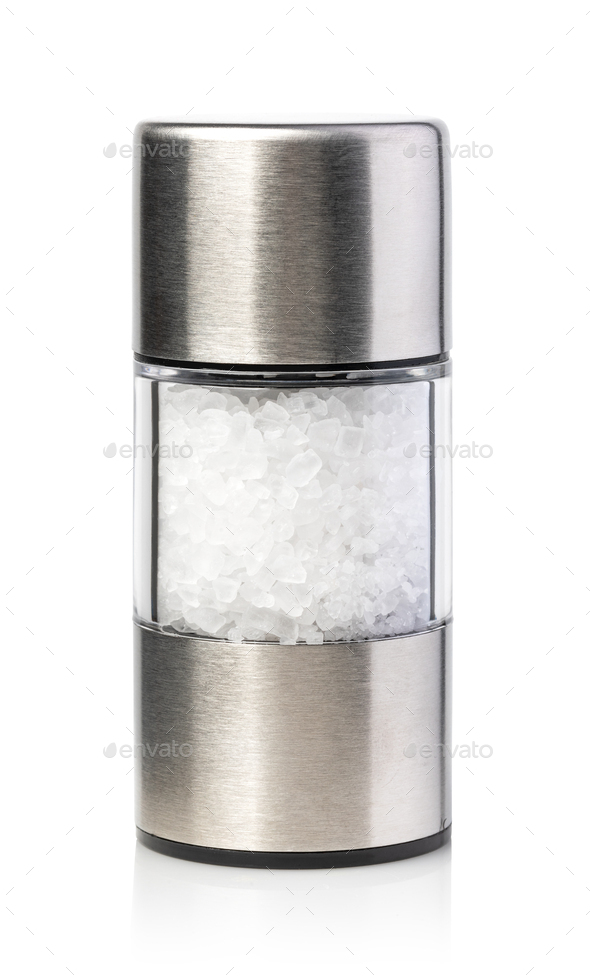 salt grinders - Stock Photo - Images
