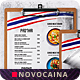 Free Download Thai Cuisine Single Page A4 & US Letter Food Menu Nulled