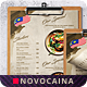Free Download Malaysian Cuisine Single Page A4 & US Letter Food Menu Nulled