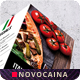 Free Download Italian Cuisine Trifold A4 & US Letter Food Menu Nulled