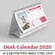 Free Download Desk Calendar 2020 Nulled