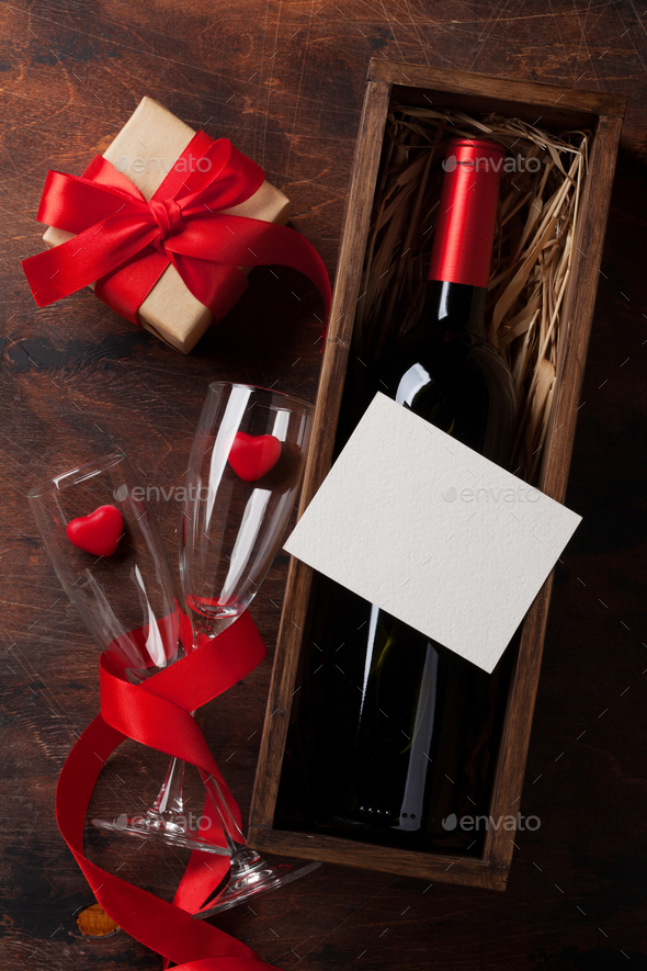 Valentine's day greeting card - Stock Photo - Images