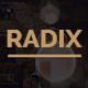 Free Download Radix -  Portfolio and Resume Template Nulled