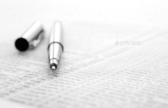 pen and document - Stock Photo - Images