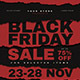 Free Download Black Friday Event Flyer Nulled
