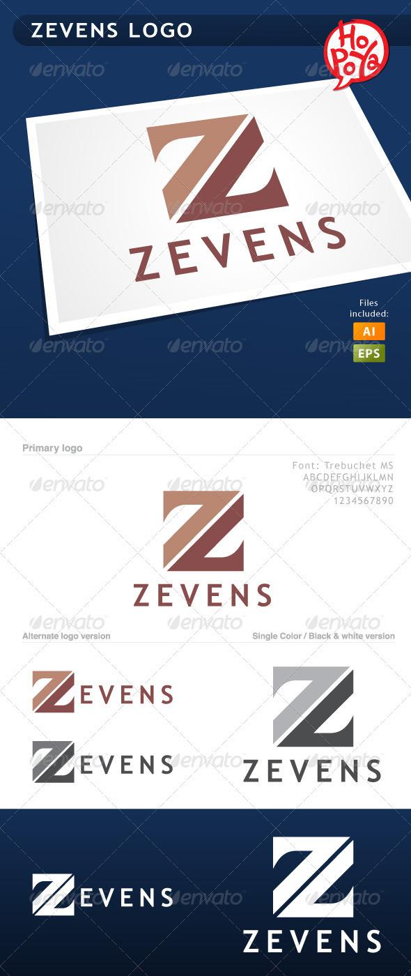 Zevens Logo - Letters Logo Templates