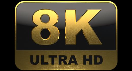 8K Motion Graphics