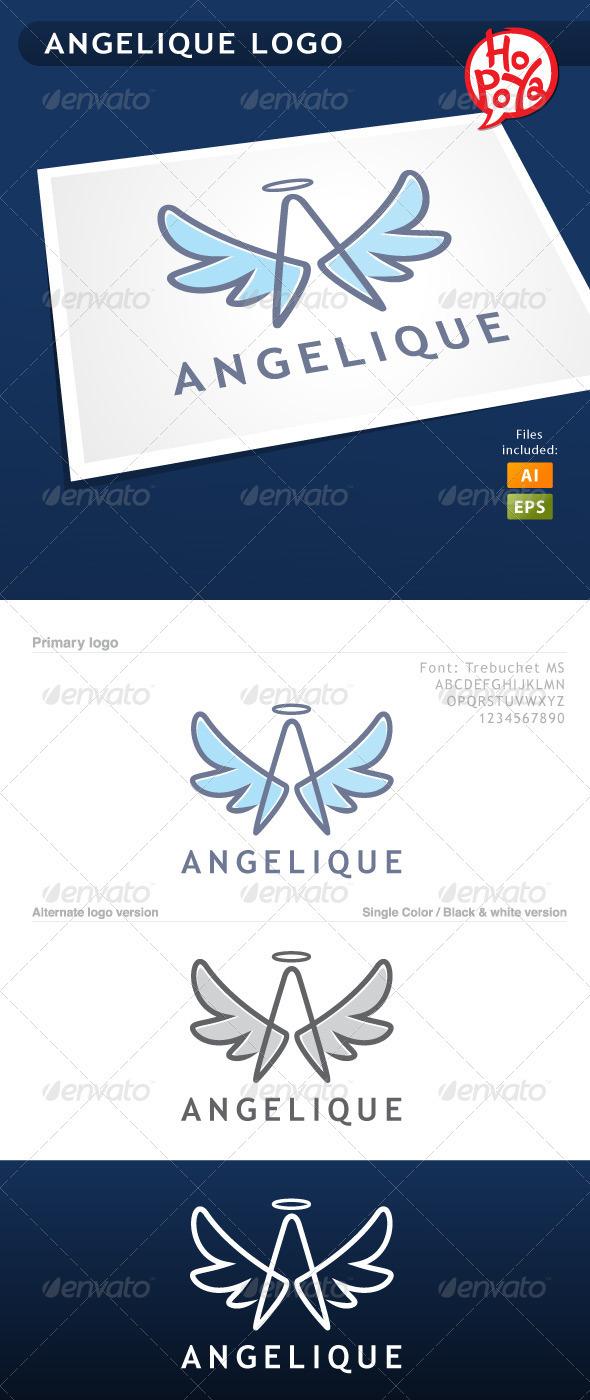 Angelique Logo - Letters Logo Templates