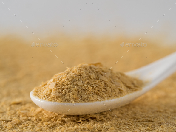 Nutritional inactive yeast - Stock Photo - Images