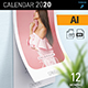 Free Download Wall Calendar 2020 Nulled