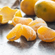Fresh yellow tangerines. - PhotoDune Item for Sale