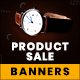 Free Download Product Sale Web Banner Set Nulled