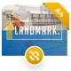 Free Download Landmark Portrait Construction PowerPoint Template Nulled