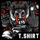 Boar Power T-Shirt Design