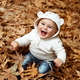 Happy boy in autumn forest - PhotoDune Item for Sale