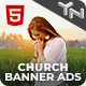Free Download Church and Religion Animated HTML5 Banner Ad Templates (GWD) Nulled