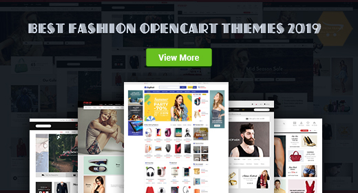 Top Fashion OpenCart Theme Collection 2019