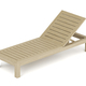 Wooden beach lounger - PhotoDune Item for Sale