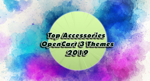 Top Accessories OpenCart 3 Theme 2019