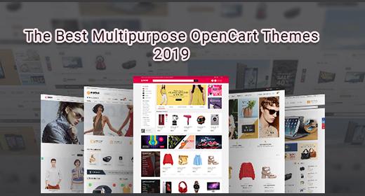 Best Multipurpose OpenCart 3 Themes 2019