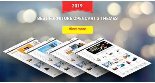 Top Furniture OpenCart 3 Theme 2019