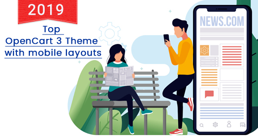Best OpenCart Theme with Mobile Layouts 2019