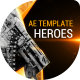 The Five Heroes Cinematic Title - VideoHive Item for Sale
