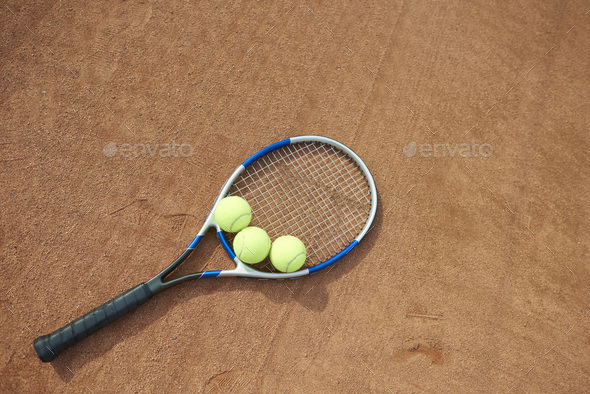 The equipment is preapred for the game - Stock Photo - Images