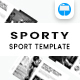 Free Download Sporty - Keynote Template Nulled