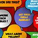 10 Unique Speech Bubbles - VideoHive Item for Sale