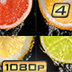 Citrus Fruits Slices and Water - VideoHive Item for Sale