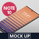 Free Download Smart Phone Mockup Note 10 Nulled