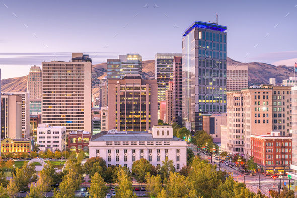 Salt Lake City, Utah, USA - Stock Photo - Images