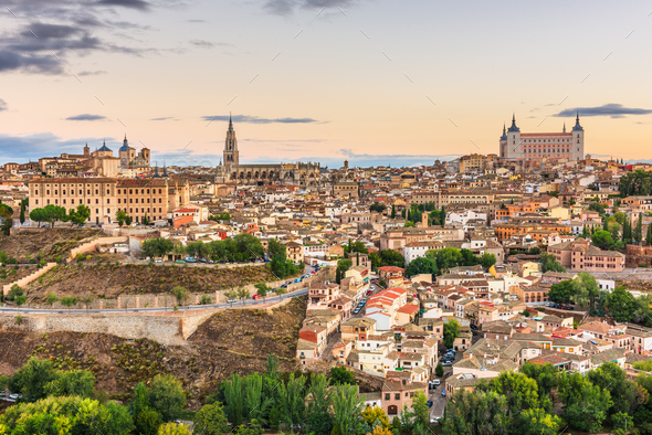 Toledo, Spain old town - Stock Photo - Images