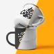 Free Download 2 Enamel Mugs Mock-up Nulled