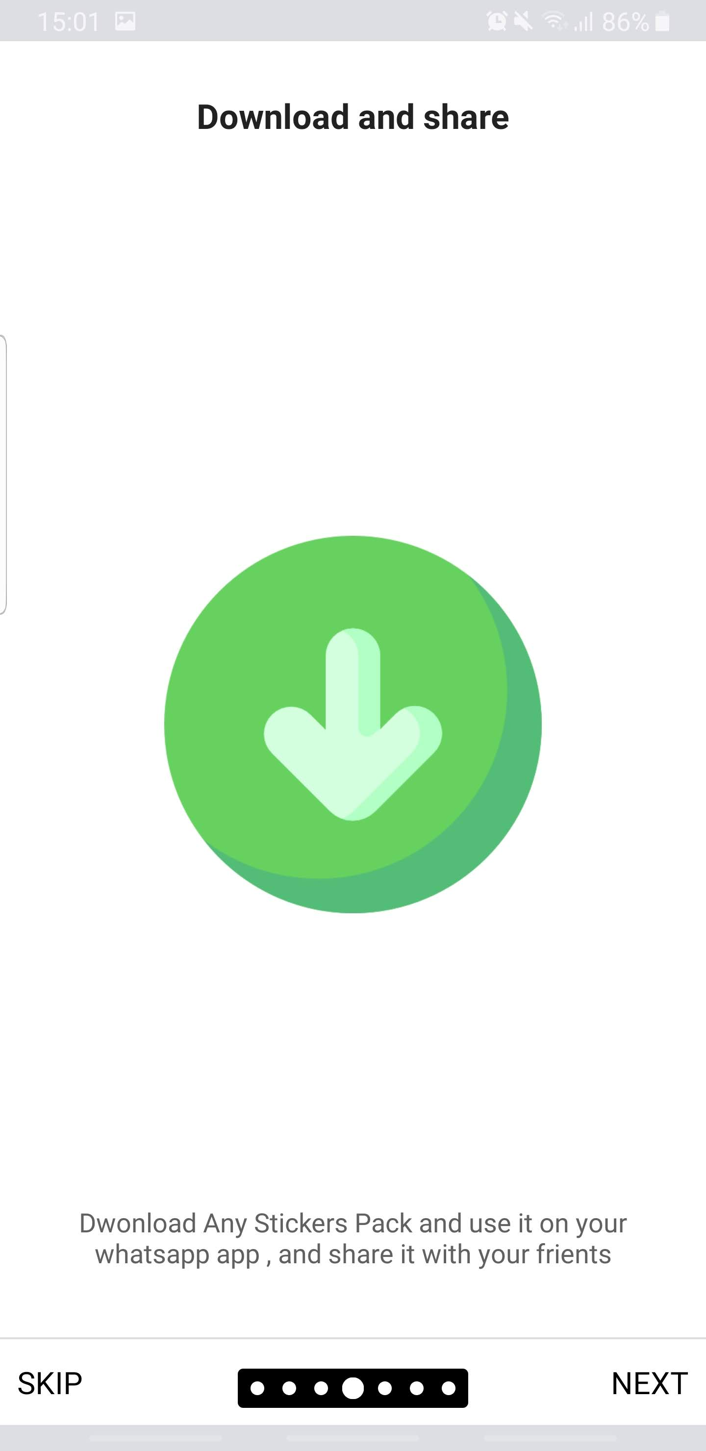 Ultimate Whatsapp Stickers and Emoji - Admin Panel