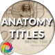 Anatomy Drawings Titles / Ancient Film Opening / Human Atlas Intro - VideoHive Item for Sale
