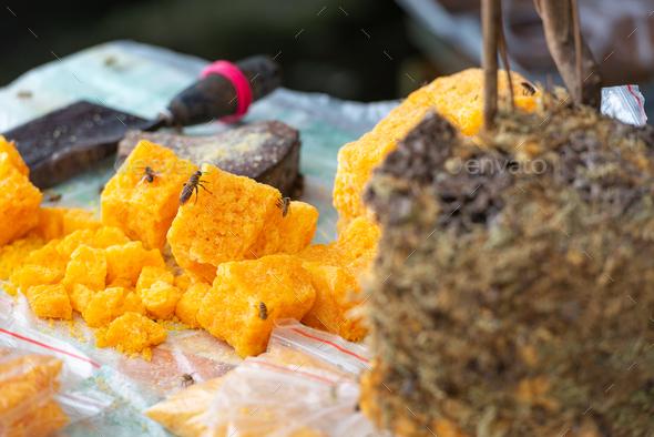 Guilin China Raw Honey - Stock Photo - Images