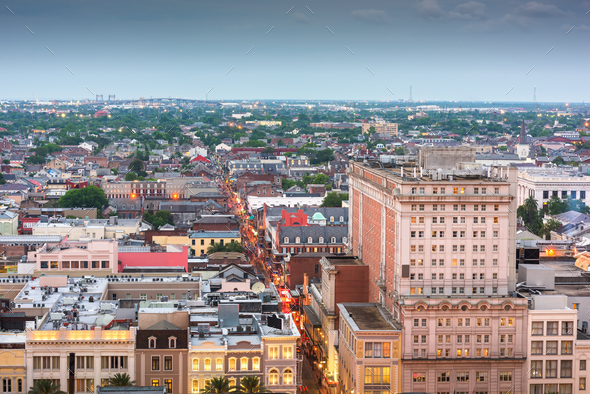 New Orleans, Louisiana, USA - Stock Photo - Images