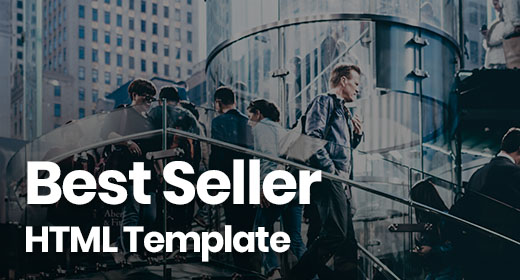 Best Seller HTML Template
