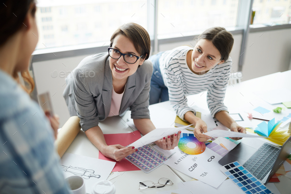 Creative Business Team in Meeting - Stock Photo - Images