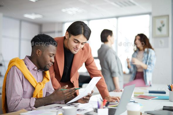Multi-Ethnic Business Team - Stock Photo - Images