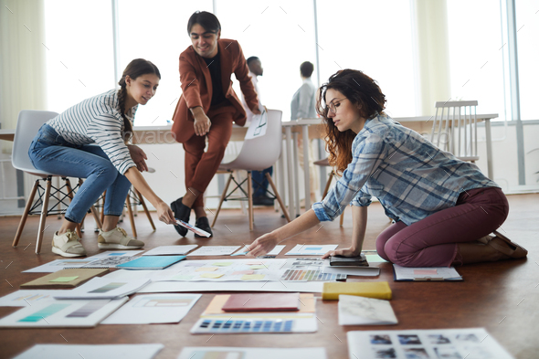Students Planning Business Project - Stock Photo - Images