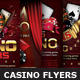 Casino Magazine Ads-Flyers Template Bundle - GraphicRiver Item for Sale