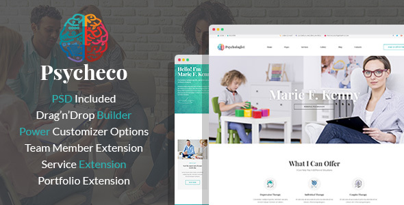 PsycheCo – Psychology & Counseling WordPress Theme