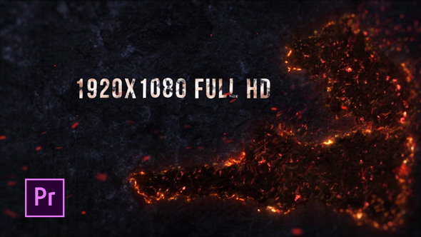 Inferno Fire Titles – Premiere Pro