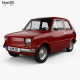 Free Download Fiat 126 with HQ interior 1976 Nulled