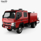 Free Download Mitsubishi Fuso Canter (FG) Wide Crew Cab Fire Truck 2016 Nulled