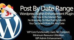Wordpress Plugin: Post By Date Range